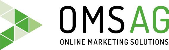 Das neue OMSAG-Logo in den Primärfarben Grün und Schwarz.