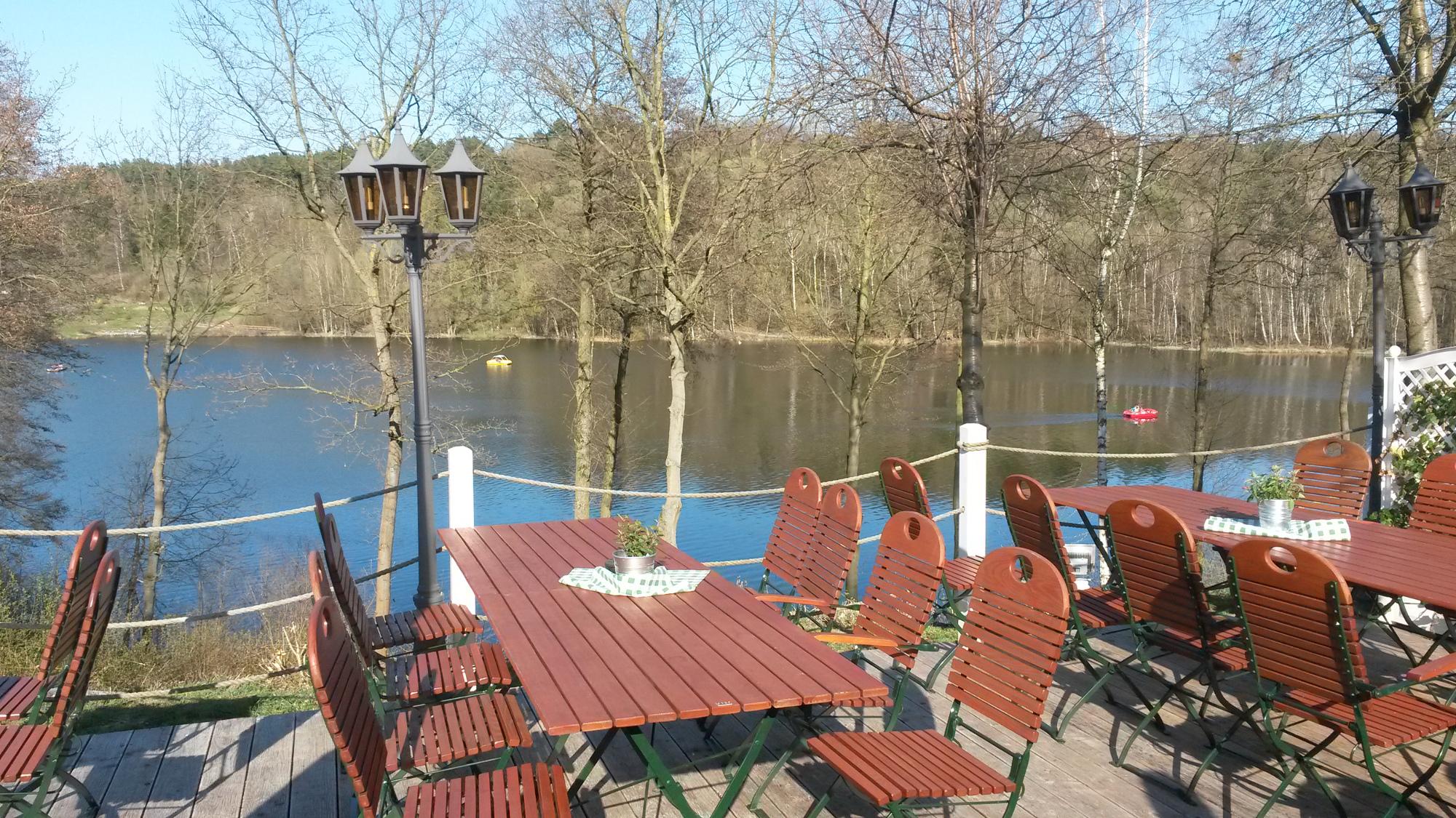 BVMW Unternehmerfrühstück Terrasse am Silberseee