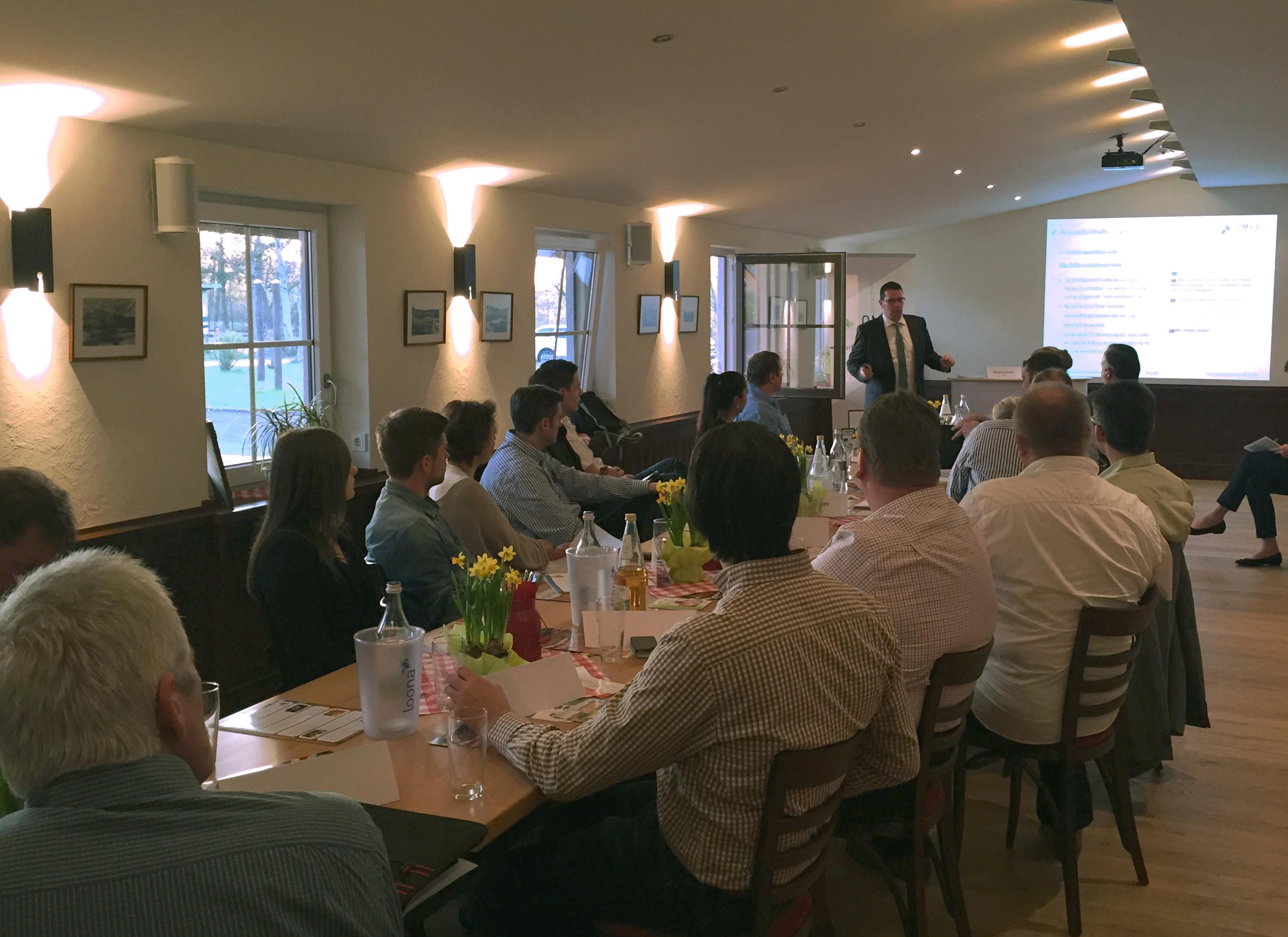 BVMW Unternehmerfrühstück Vortrag Sascha Krenner