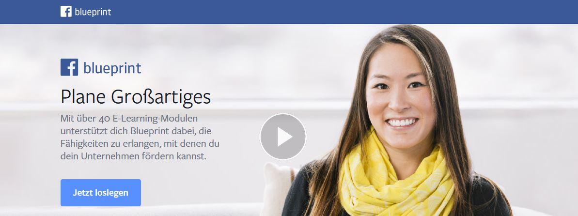 Facebook Plattform Blueprint