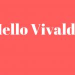 Hallo Vivaldi