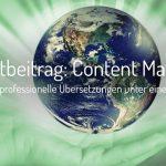 4 Tipps für gutes Content Marketing in Kombination mit SEO für Übersetzungen