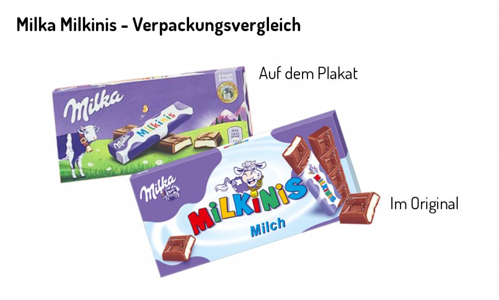 Milkini Packshots Vergleich