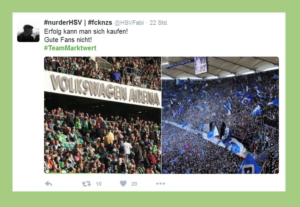 """Fußball-Bundesliga: Statement zu """"Team Marktwert"""" - HSVFabi"""