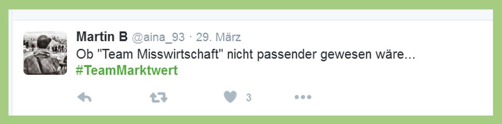 """Fußball-Bundesliga: Statement zu """"Team Marktwert"""" - @aina_93"""
