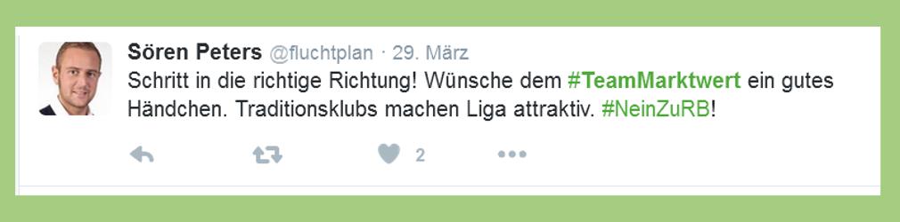 """Fußball-Bundesliga: Statement zu """"Team Marktwert"""" - fluchtplan"""