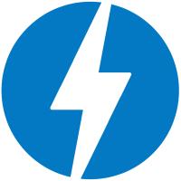 Blitzsymbol für AMP-Seiten in Google