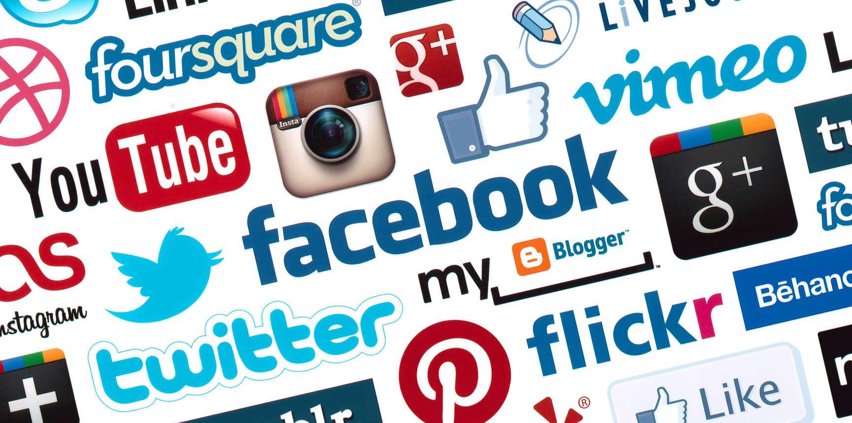 OMSAG - Wissen - Sammlung Social Media Logos