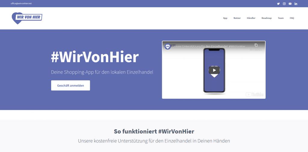 Chancen der Digitalisierung - Website wirvonhier.net