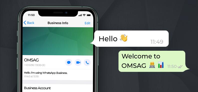 Kommunikation Whatsapp